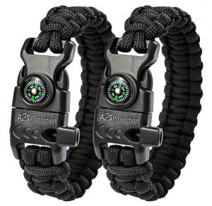 A2S Protection Paracord Bracelet Review