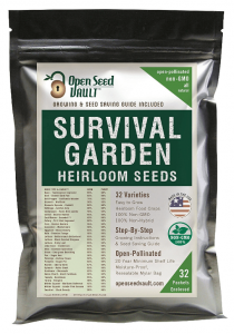 Non GMO Heirloom Vegetable Seeds
