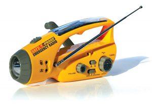 Safe-T-Proof Solar, Hand-Crank Emergency Radio