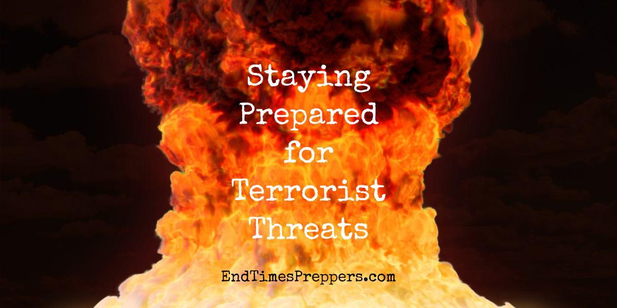 Prepare for terrorist attacks